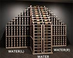 Designer Series 2 Column Rack with Display Wine Cellar Racks, Wine Rack, Wine Bottle Display, Waterfall, Shop, Design, Bottle Rack, Waterfalls, Wine Racks