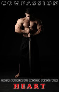 Compassion . True Strength Comes From the Heart . Patrik Baboumian, Vegan Strongman