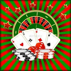 Composition of a Casino #GraphicRiver Roulette, playing cards, dice and poker chips on a green red background. In the archive are EPS -8, AI and JPG . All elements on the image are collected in groups and are easily edited. Radial and linear gradients are used. Created: 22November12 GraphicsFilesIncluded: JPGImage #VectorEPS #AIIllustrator Layered: No MinimumAdobeCSVersion: CS2 Tags: accident #as #backdrop #background #cards #casino #casinos #cube #dice #entertainment #fun #gambling #game…