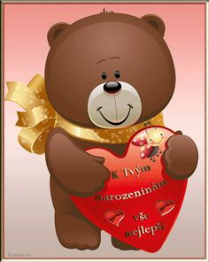 020 dětská přáníčka k narozeninám Teddy Bear, Toys, Gaming, Games, Toy, Teddybear, Beanie Boos