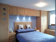 Seaside Bedroom with Fitted Wardrobes