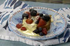 Pound Cake with Limoncello Zabaglione | Recipes | Giada De Laurentiis