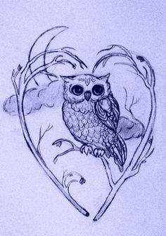 owls tattoo night owl tattoo design a tattoo cute tattoo owl tattoos Owl Tattoo Design, Tattoo Designs, Body Art Tattoos, Tattoo Drawings, Heart Tattoos, Bird Tattoos, Feather Tattoos, Sleeve Tattoos, Buho Tattoo