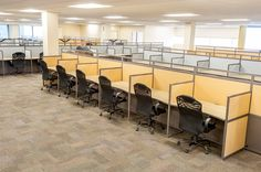 Simple call center cubicles  #callcentercubicles