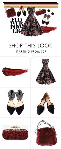 """""""DARK BEAUTY"""" by indriafeby on Polyvore featuring By Terry, Report, Alexander McQueen, Chanel and Humble Chic"""