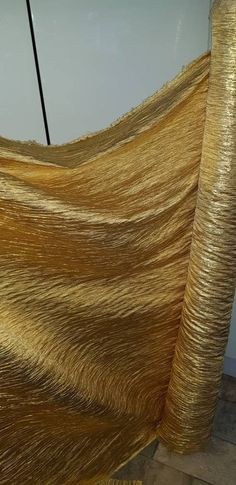 "GOLD SHIMMER  DRESS CHIFFON FABRIC 58/"" WIDE 10M copper"