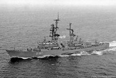 d 187 FGS Rommel tipo Lutjens clase 103a charles f.  Adams destructor de misiles guiados marina alemana