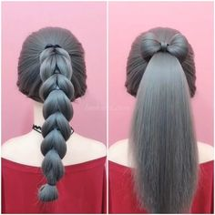 30 Braids Hairstyle Braids Hairstyle Ideas Two Hair Styles Suitable for Skirts - Flower Girl Hairstyles, Fancy Hairstyles, Ponytail Hairstyles, Hairstyle Ideas, Girl Hair Dos, Hair Upstyles, Cornrows, Braids, Hair Videos