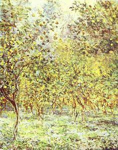 Lemon-Trees. Bordighera by Claude Monet