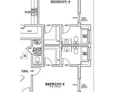 1000 images about house plans on pinterest jack and for Jack and jill closet design