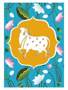 """Learn even more details on """"buy art artworks"""". Visit our web site. Pichwai Paintings, Indian Art Paintings, Lotus Artwork, Bright Colors Art, Cow Painting, Lotus Painting, Indian Folk Art, Madhubani Painting, Cow Art"""