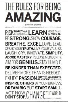 #word I wanna be amazing