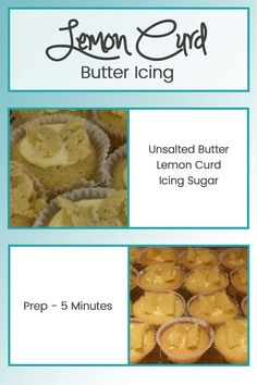 Smooth, sweet and delicious Lemon Curd flavour butter icing. Perfect to add to a…
