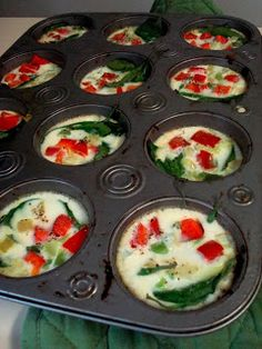 PCOS Breakfast Egg Muffins | With Great Expectation