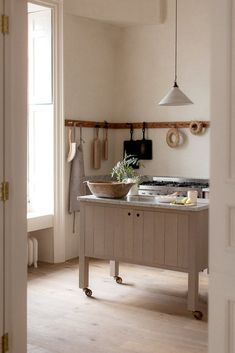 A tranquil Sebastian Cox Kitchen by deVOL in a beautiful home in Edinburgh - The deVOL Journal - deVOL Kitchens Cocina Natural, Natural Kitchen, Home Decor Kitchen, Rustic Kitchen, Decorating Kitchen, Home Interior, Interior Design Kitchen, Interior Designing, Kitchen Designs