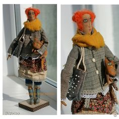 Куклы Шитьё Мои куклы Ткань фото 1