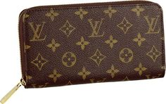 Louis Vuitton Monogram Canvas Zippy Wallet The most versatile of wallets, the Zippy is a very practical choice. Description from allhandbagfashion.com. I searched for this on bing.com/images