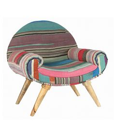 This chair is super cool too! So unique...