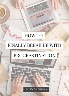 Break with procrastination and increase productivity... Yes please!