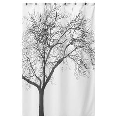 Black Tree Waterproof White Shower Curtain Polyester Bathroom Toilet Decor for sale online Tree Shower Curtains, Bathroom Shower Curtains, Bath Shower, Door Curtains, Contemporary Shower, Black Tree, Tree Patterns, Big Tree, Products