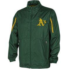 Oakland Athletics Competitor Full Zip Jacket - Green