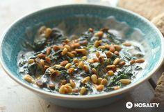 Joghurtos spenótsaláta Cantaloupe, Oatmeal, Food And Drink, Meals, Fruit, Breakfast, Recipes, The Oatmeal, Morning Coffee