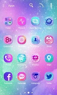 Milky Way GO Launcher Theme screenshot 4 Theme Launcher, Android Theme, Cute Themes, Android Apk, Milky Way, Samsung, App, Apps