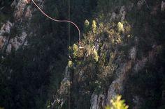 Bloukrans River Bridge in Natures Valley, Garden Route. Bungi jump the highest commercial bungi jump in the world! The Bloukrans Bungi Jump surpasses . Cape Town, February, Bridge, Photographs, Africa, Journey, River, World, Garden