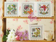 Free blackwork butterflies charts | Free Chart | Cross Stitching