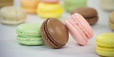 macarons from Le Panier, Pike Place Market, Seattle. best macarons I've had... yet. I'm comin' for ya, Laduree! #Seattle #Paris