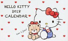 Hello Kitty / 2018 Calendar
