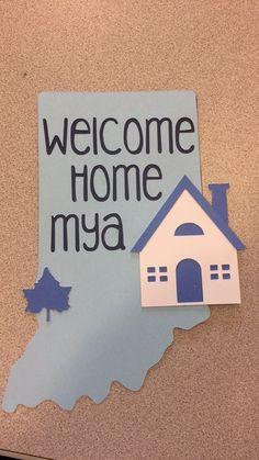 Welcome Home Door Decs