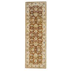 Herat Oriental Indo Hand-tufted Mahal / Beige Rug (Indo Hand-tufted Area Rug)