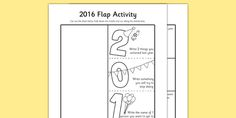 * NEW * 2016 Flap Activity