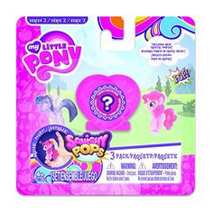Squishy Pops My Little Pony Toy (Pack of 3): Amazon.co.uk: Toys & Games