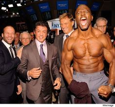 Expendables Jason Statham, Sylvester Stallone, Dolph Lundgren and Terry Crews a class all there own