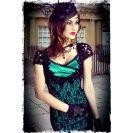 Envy Motif Wiggle Dress - $249.00