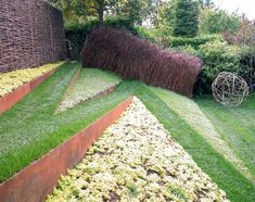 Love this sloping pathway by Andrea Cochran  // Great Gardens & Ideas //