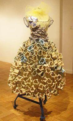 Valerie Grossman - ceramic dress