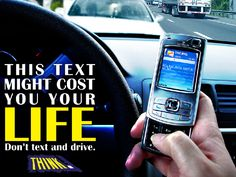 Texting while driving is drunk driving by another name.