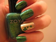 MaD Manis: St. Patrick's Day manicure