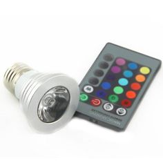 Magic Lighting LED Light Bulb And Remote With 16 Different Colors With 5 Modes #Egoodbest