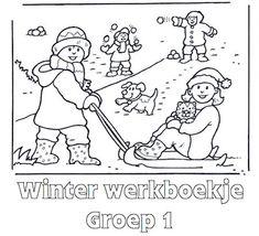 Winter Werkboekje Groep 2