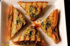 Masala Toast Sandwich - grew up eating this