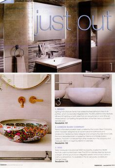 The beautiful Yasmin basin from the London Basin Company  Kitchen    Bathrooms News June 2016Pinterest   The world s catalog of ideas. Essential Kitchen And Bathroom Business Magazine. Home Design Ideas