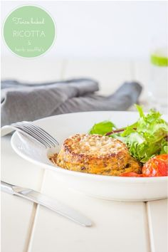 Twice Baked Ricotta & Herb Souffle's #vegetarian   via @deliciouseveryd DeliciousEveryday.com