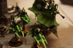 Dark Eldar reavers jet bikes
