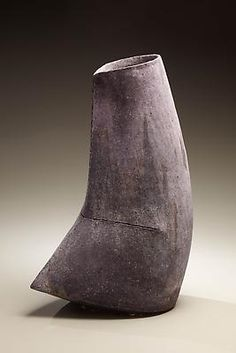 Narrow mouthed, multi-fired vessel, ca. 2009  Stoneware  15 9/16 x 11 x 7 1/16 inches  Inv# 6102  $ 7,500 Image