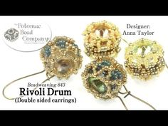 RIvoli Drum (Double Sided Earrings) - YouTube