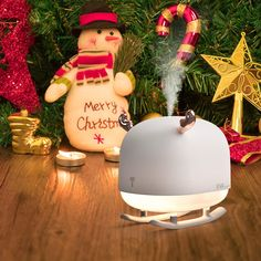 Deer Humidifier Light #353 Small Humidifier, Portable Humidifier, Real Robots, Deer Design, Merry, Fancy, Christmas Ornaments, Cool Stuff